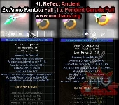 Kit REFLECT 1 ( Rings e Pendant Ancient Full)