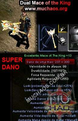 Dual Mace of The King